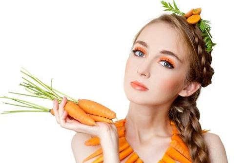 Kết quả hình ảnh cho cà rốt làm đẹp da