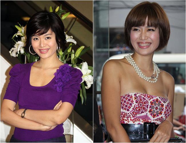Là Hoa hậu Việt Nam năm 1994, Hoa hậu Thu Thủy đã có 2 con nhưng vẫn đẹp rất mặn mà. Đặc biệt, so với trước kia, Thu Thủy ngày càng sexy hơn.