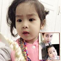 Mê mệt nét dễ thương con gái Lưu Hương Giang