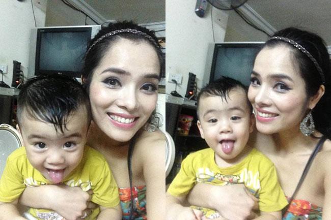 Kiều Thanh sinh con trai đầu lòng vào tháng 6/2011 và đặt tên là Kiều Nam Khánh. Cô từng tiết lộ, bố của cậu bé là người đàn ông hoạt động trong lĩnh vực kinh doanh và gắn bó với cô trong suốt 6 năm.