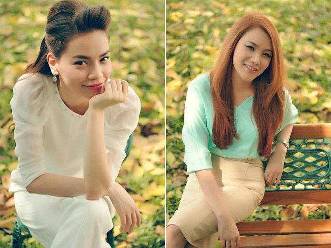 Đầu tháng 3, hai nữ ca sĩ nổi tiếng và tài năng là Hồ Ngọc Hà và Hồ Quỳnh Hương chính thức trở thành giám khảo của cuộc thi X-Factor Việt Nam. Cả hai đều nhận được sự ủng hộ và yêu quý nhiệt tình từ phía thí sinh và người hâm mộ.  Trong cuộc thi này, Hồ Ngọc Hà bật mí rằng cô đảm nhận vai trò là người dung hoà những cuộc tranh cãi của hai giám khảo Đàm Vĩnh Hưng và Hồ Quỳnh Hương. Nữ ca sĩ cũng cho biết, cô tập trung chủ yếu vào việc góp ý về âm nhạc lẫn hình ảnh của thí sinh.  Hồ Quỳnh Hương tâm sự, đây là lần đầu tiên cô ngồi 'ghế nóng' một cuộc thi tầm cỡ, trong khi Mr Đàm và Hà Hồ đã có nhiều kinh nghiệm. Vì vậy, cô không tránh khỏi một chút hồi hộp. Tuy nhiên, cô sẽ cố gắng hoàn thành thật tốt công việc của mình. Hồ Quỳnh Hương tự nhận mình là giám khảo chuyên nhận xét thẳng, thật và khó tính.  Bài liên quan:  Bất động sản triệu đô của tỷ phú Larry  Harry Styles tậu biệt thự mới 85 tỷ  Lee Hyori sexy khoe nhà trên đảo Jeju  Nhà 'cực chất' của người mẫu Minh Triệu  Lam Trường tậu thêm nhà mới  Căn hộ sang trọng của ca sĩ hải ngoại Nhật Hạ