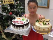Làng sao - Thu Minh hạnh phúc đón chào năm mới bên người thân