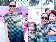 Làng sao - Ốc Thanh Vân tiết lộ sắp sinh con trai tên Cacao