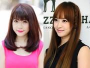Làm đẹp - Chọn tóc mái hợp với khuôn mặt để 'ăn gian' tuổi