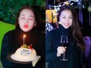 Làng sao - Trà Ngọc Hằng được bạn trai tổ chức sinh nhật bí mật