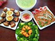 Thực đơn – Công thức - Bữa ăn chưa đầy 80.000 vẫn được khen nức lời