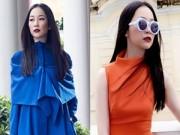 Thời trang công sở - Linh Nga mặc đẹp sang chảnh xuống phố