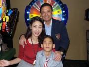 Làng sao sony - Vợ chồng HH Hà Kiều Anh mừng sinh nhật con trai lớn