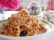 Bếp Eva - Làm kẹo hạt điều để dành mời khách