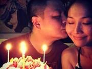 Làng sao - Kim Hiền đón sinh nhật ngọt ngào sau tin vui có bầu
