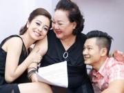 Làng sao - Jennifer Phạm được NSND Ngọc Giàu dạy hát tân cổ