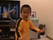 Lý Tiểu Long phiên bản nhí 4 tuổi