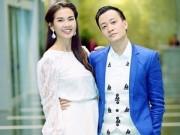Hậu trường - Lương Mạnh Hải quần áo điệu đà bên Anh Thư