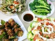 Thực đơn – Công thức - Bữa ăn 115.000 cho 4 người đầy hấp dẫn