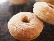 Thực đơn – Công thức - Bánh donut vị táo, quế thơm ngất ngây