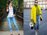 Tư vấn mặc đẹp - Tư vấn thời trang: Chân ngắn vẫn mặc jeans thụng cực chuẩn