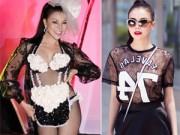 Thời trang - Những người đẹp diêm dúa bỗng sành điệu bất ngờ