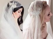 """Thời trang cưới - Mạng che mặt cho cô dâu đẹp đến """"xiêu lòng"""""""