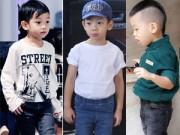 Thời trang - Tuyển tập quần jeans chất lừ của con trai Hồ Ngọc Hà