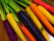 Món ngon - Cà rốt 7 sắc cầu vồng, càng ăn càng bổ