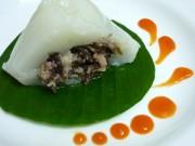 Bếp Eva - Đến Đông Các, ăn bánh giò, xúc xích thơm lừng