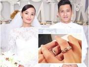 Làng sao - Vợ chồng Lê Thúy khoe nhẫn cưới lấp lánh