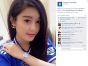 Làng sao - Fanpage thế giới của Chelsea bất ngờ đăng ảnh Á hậu Huyền My