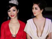 Thời trang Sao - Giáng My: Hoa hậu chăm khoe vòng 1 nhất nhì showbiz