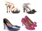 Tư vấn mặc đẹp - Giày xinh xuống phố mùa xuân