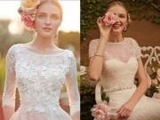 Thời trang cưới - Những mẫu váy cưới biến cô dâu thành thiên thần