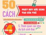 50 cách dạy con sáng tạo cực hữu ích cho mẹ