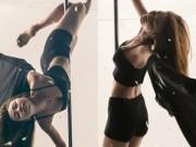 Làng sao - Ngân Khánh khoe hình thể sexy với múa cột