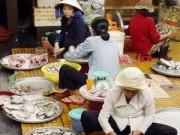 Mua sắm - Giá cả - Tràn lan tôm độc hại ở chợ
