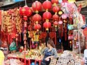 Tin trong nước - Tràn ngập đồ trang trí Tết thuần Việt xuất xứ Trung Quốc
