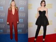 Thời trang - Mặc quần đi dự tiệc cuốn hút như sao Hollywood