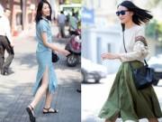 Thời trang - Trang Khiếu đầy sức sống trên đường phố Sài Gòn