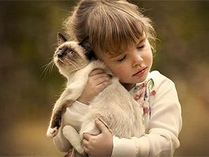 Bộ ảnh đẹp ngất ngây của trẻ em bên các loài động vật