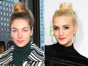 Làm đẹp - Những kiểu tóc búi mới lạ nhất của mỹ nhân thế giới