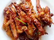 Bếp Eva - Nhâm nhi chân gà om kiểu Trung Quốc