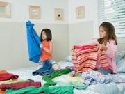 Mẹo vặt gia đình - Mẹo gấp quần áo đỉnh cao trong 2 giây