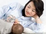 Sau sinh - 15 loại thực phẩm giúp sữa mẹ về ướt áo