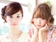Tóc đẹp - 10 kiểu tóc giúp bạn xinh như phụ nữ Nhật
