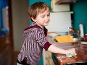 3-5 tuổi - Tâm đắc cách phụ nữ nước ngoài dạy con làm việc nhà