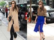 Thời trang Sao - Victoria Beckham gợi ý thời trang cho nữ công sở Sài thành