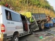 Tin tức - TNGT 9 người chết: Xe tải đã hết niên hạn sử dụng