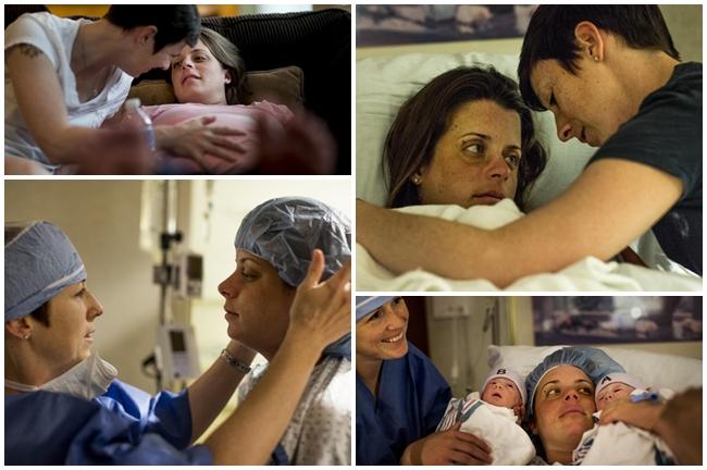 Cặp đôi Stephanie và Desiree Bryan kết hôn năm 2010 và sau nhiều năm nỗ lực để có con, đến ngày 16/5/2014, hạnh phúc như vỡ òa khi họ chào đón cặp song sinh Mia Lynn và Lily Mae tại bệnh viện Sibley ở Washington. Mẹ Desiree Bryan đã mang thai bằng phương pháp thụ tinh trong ống nghiệm với trứng của Stephanie.