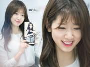 Làng sao sony - Park Shin Hye đẹp long lanh khiến fan trầm trồ
