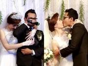 Hậu trường - Vợ chồng Huỳnh Đông khóc nức nở trong tiệc cưới