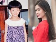 Làng sao - Á hậu Diễm Trang khoe ảnh ngày bé cực dễ thương