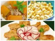 Bếp Eva - Cơm chiều ngon với vịt tẩm vừng, canh bí đỏ